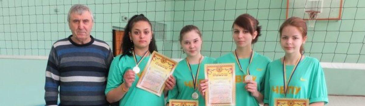 Змагання з волейболу  дівчата